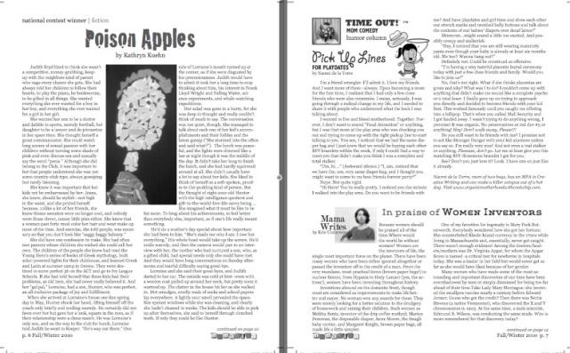 Mamazina Magazine, pages 6 and 7