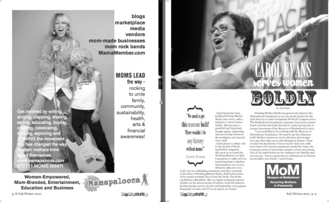 Mamazina Magazine, pages 8 and 9