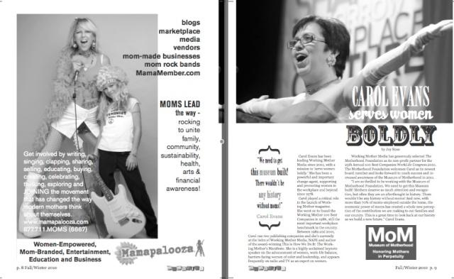 Mamazina Magazine, pages 8 and 9